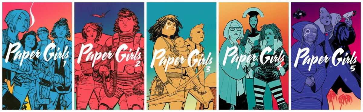 Paper Girls Volumes 1-5Review